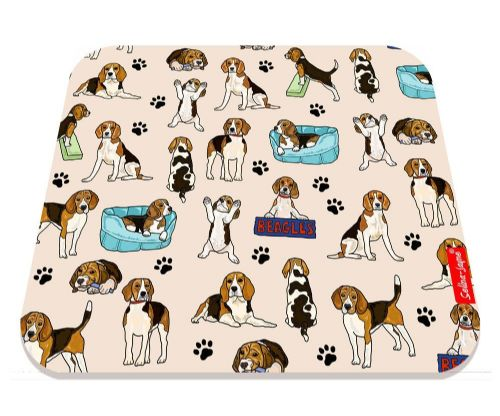 Selina-Jayne Beagles Limited Edition Designer Mouse Mat